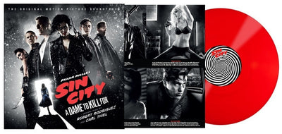 SIN CITY: A DAME TO KILL FOR - Original Soundtrack (Ltd Edition Red Vinyl LP)