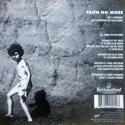 "FAITH NO MORE - Superhero (7"" Vinyl Single)"