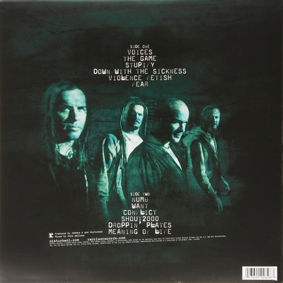 DISTURBED - The Sickness (2015 Reissue Vinyl LP)