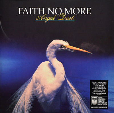 FAITH NO MORE - Angel Dust (2x 180g Deluxe Audiophile Vinyl LP)