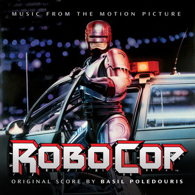 "BASIL POLEDOURIS - ""RoboCop Original Movie Soundtrack"" (Limited Edition x2 Vinyl LP + Download Card)"