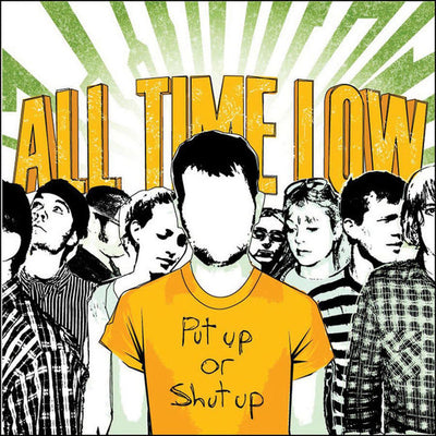 "ALL TIME LOW - ""Put Up Or Shut Up"" (Limited Edition Vinyl)"