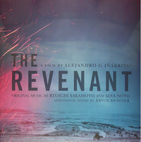 "RYUICHI SAKAMOTO - ""The Revenant: Original Motion Picture Soundtrack"" (Ltd. Edition x2 Gatefold Vinyl LP)"