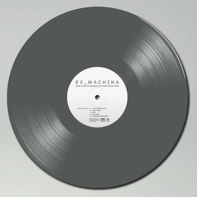 EX_MACHINA - Original Soundtrack (Ltd Edition 2x Compound Grey Vinyl Gatefold LP)