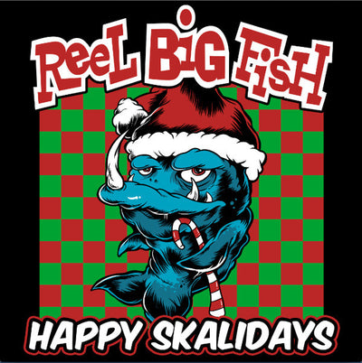 "REEL BIG FISH - ""Happy Ska-lidays"" (Limited Edition 12"" Trans Gold/Orange Vinyl EP)"