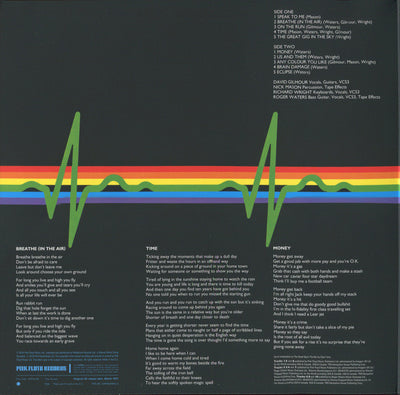 PINK FLOYD - The Dark Side Of The Moon (Remastered 180g Vinyl Gatefold LP)