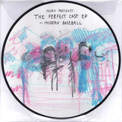 "MODERN BASEBALL - ""MOBO Presents: The Perfect Cast EP featuring Modern Baseball (Limited Edition Picture Disc Vinyl LP)"