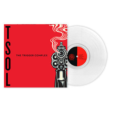 "T.S.O.L. - ""The Trigger Complex"" (Limited Edition Ultra Clear Vinyl LP + Download Card)"