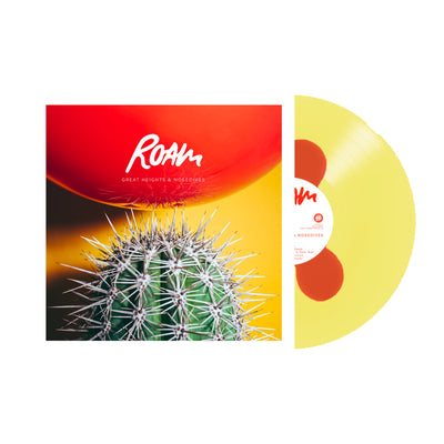 "ROAM - ""Great Heights & Nosedives"" (Ltd Edition Yellow / Red Vinyl LP)"