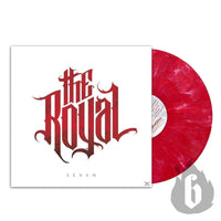 "THE ROYAL - ""Seven"" (Ltd. Edition Red/White Marbled 180gram Vinyl LP + CD)"