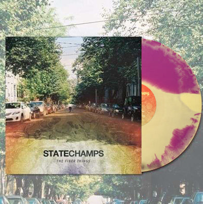 STATE CHAMPS - The Finer Things (Ltd Edition Purple / Yellow Smash Vinyl LP + Free Digital Copy)