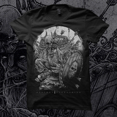 DESTROY EVERYTHING - Ltd Edition 'Godmachine' T-Shirt