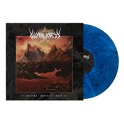 "WORMWITCH - ""Strike Mortal Soil"" (Limited Edition Bolt Blue/Black Marbled Vinyl LP)"