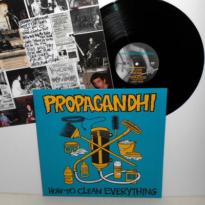 PROPAGANDHI ‎– How To Clean Everything (20th Anniversary Repress Vinyl LP)