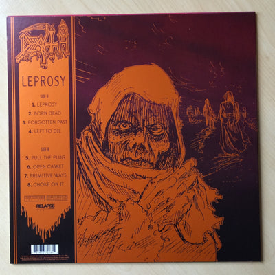DEATH - Leprosy (2014 Remastered Vinyl LP + Free Digital Copy)