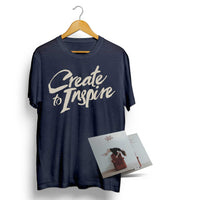 "CREATE TO INSPIRE - ""Sickness"" (CD & T-Shirt Bundle Deal)"