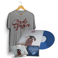 "CREATE TO INSPIRE - ""Sickness"" (Vinyl, T-Shirt, CD & EP Megabundle)"