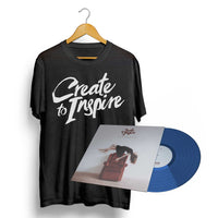 "CREATE TO INSPIRE - ""Sickness"" (Vinyl + T-Shirt Bundle Deal)"