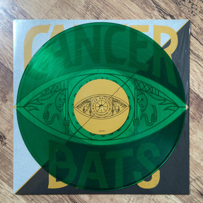 CANCER BATS - Searching For Zero (Ltd Edition Transparent Green Vinyl LP)