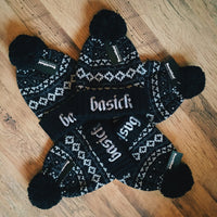 BASICK RECORDS - Ltd Edition Nordic Snowstorm Beanie Hat