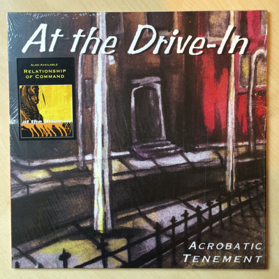 AT THE DRIVE IN - Acrobatic Tenement (Vinyl LP)