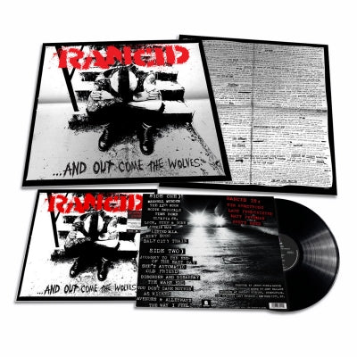 RANCID ‎– ...And Out Come The Wolves (Ltd Edition 20th Anniversary 180g Vinyl LP)