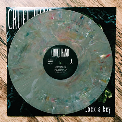 "CRUEL HAND - ""Lock & Key"" (Ltd Edition Grey Mix Vinyl LP)"