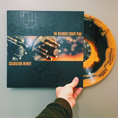 "THE DILLINGER ESCAPE PLAN - ""Calculating Infinity"" (Limited Edition Vinyl LP)"