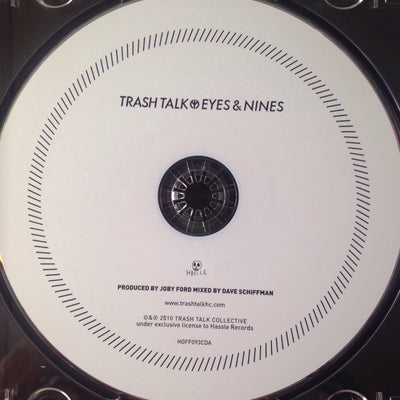 "TRASH TALK - ""Eyes & Nines"" (Album CD)"