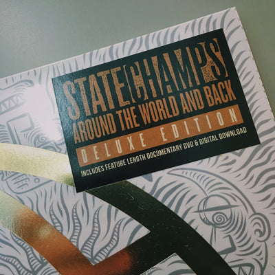 "STATE CHAMPS - ""Around The World And Back"" (Deluxe x2 Vinyl LP + DVD Documentary)"