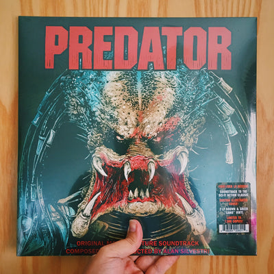 "ALAN SILVESTRI - ""Predator: Original Motion Picture Soundtrack"" (Green & Brown Camo Vinyl LP)"