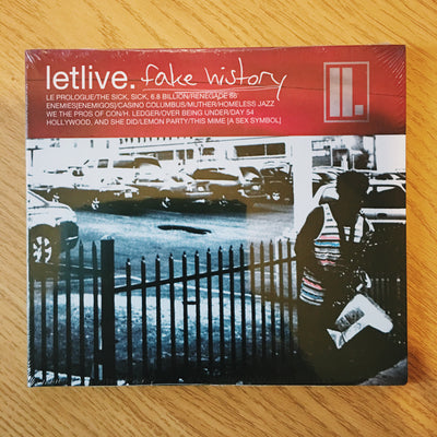 LETLIVE. - Fake History (CD Album)