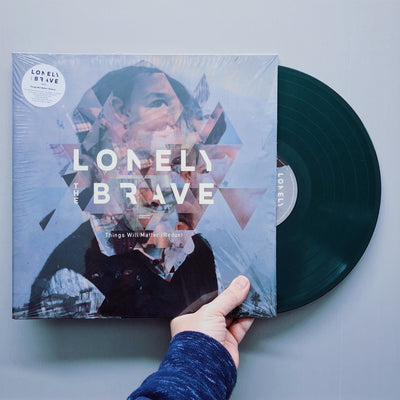 "LONELY THE BRAVE - ""Things Will Matter (Redux)"" (Vinyl LP)"