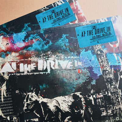 "AT THE DRIVE IN - ""in•ter a•li•a"" (Limited Edition 180g Coloured Vinyl LP)"