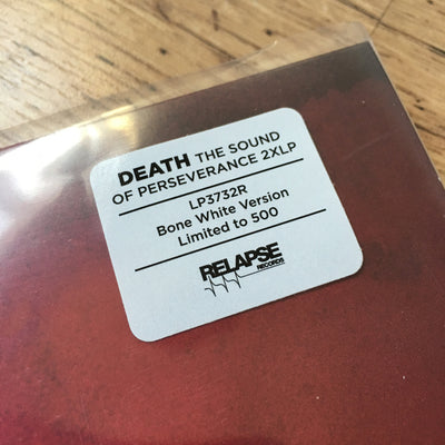 "DEATH - ""The Sound Of Perseverance"" (Limited Edition x2 Re-Issue Vinyl LP)"