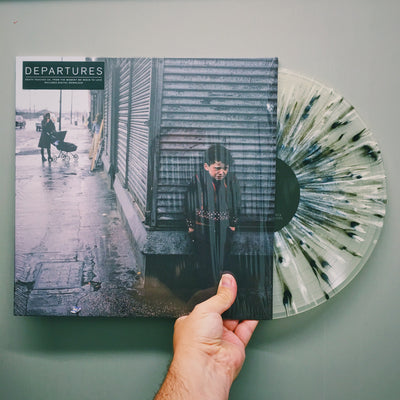 "DEPARTURES - ""Death Touches Us, From The Moment We Begin To Love"" (Ltd. Edition Clear w/ Splatter Vinyl LP)"