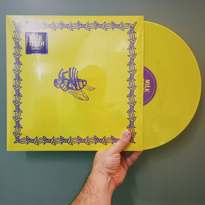 "MILK TEETH - ""Be Nice"" (Limited Edition Yellow Vinyl EP)"