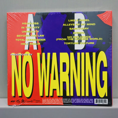 NO WARNING - Torture Culture (Digipak CD)