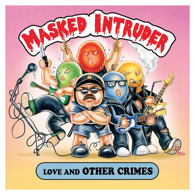 "MASKED INTRUDER - ""Love And Other Crimes"" (Limited Edition Vinyl LP)"
