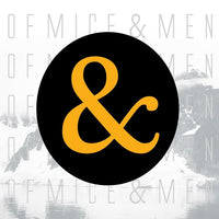 OF MICE AND MEN - Of Mice And Men (Limited Edition Clear/Orange with Black Splatter Vinyl LP + Download)