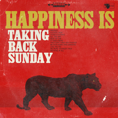 TAKING BACK SUNDAY - Happiness Is (Vinyl LP + Free Digital Copy)