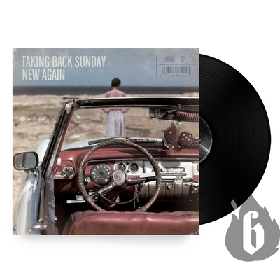 "TAKING BACK SUNDAY - ""New Again"" [Re-Issue] (Limited Edition 140gram Vinyl LP)"