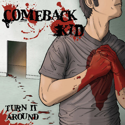 "COMEBACK KID - ""Turn It Around"" (Limited Edition Red + Black Mix Vinyl LP)"