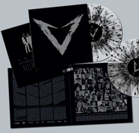 "VOYAGER - ""V"" (Limited Edition x2 Clear/Black Splatter Vinyl LP)"
