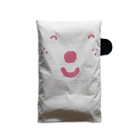 HAPPY SAD PILLOW CASE by Fine Little Day