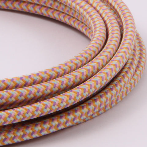pastel patterned flex cable modern lighting