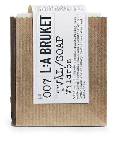 La Bruket soap wildrose organic beauty product