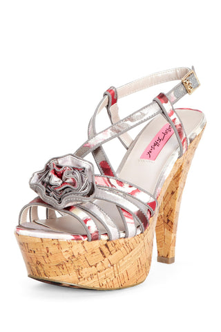 Betsey Johnson Women's Circle Slingback Pump 8