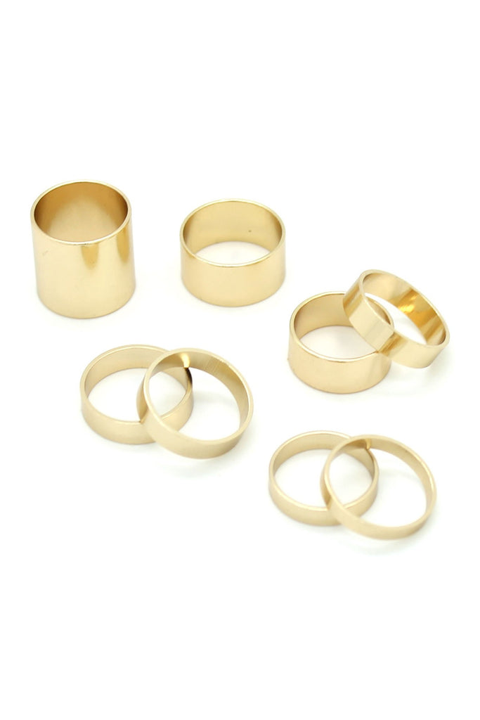 Eye Candy Los Angeles Cover My Finger Ring Set 7