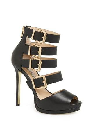Kristin Cavallari by Chinese Laundry Lark High Heel Sandal 8.5 Black